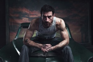1. Matthew Bourne's THE CAR MAN.  Jonathan Ollivier (Luca).  Photo by Chris Mann LR