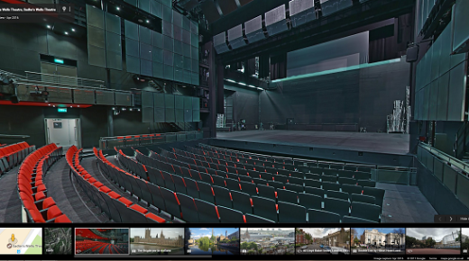 Explore Sadler's Wells on Google Street View