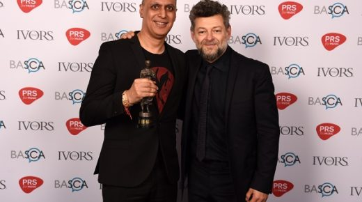 Nitin Sawhney receives Lifetime Achievement Ivor Novello award
