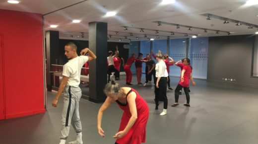 Community dance group and NYDC alumni create piece inspired by Lyon Opera Ballet show