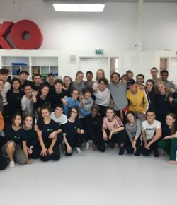 Miriam Levy on life in National Youth Dance Company