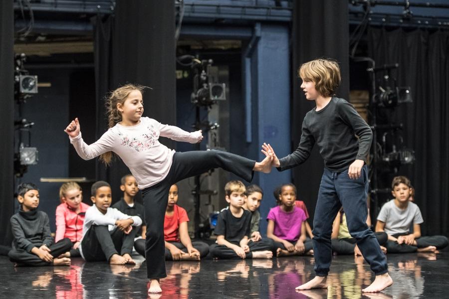 Pupils explore solar system through dance