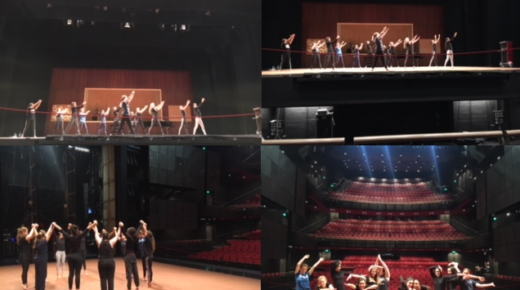 East London Pupils Take Part in Rambert Dance Workshop