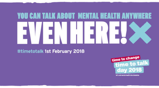 Staff make Time to Talk about mental health
