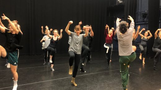 A teachers' workshop with Hofesh Shechter Company