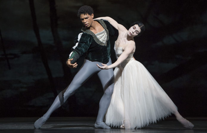 GISELLE, The Royal Ballet;Giselle; NATALIA OSIPOVA,Albrecht; CARLOS ACOSTA,Queen of the Wilis ; HIKARU KOBAYASHI,