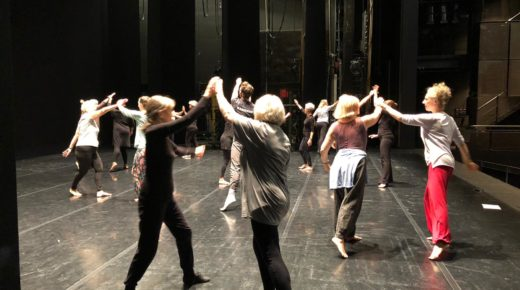 Life is a dream for over 60s joining Rambert on stage