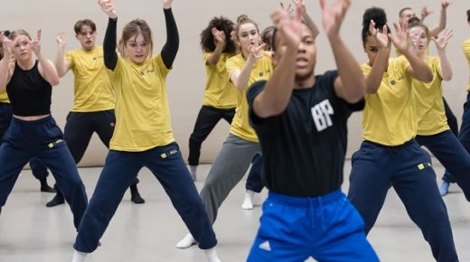 """Sweat, hard work and heart-warming experiences"": NYDC members rehearse MADHEAD"