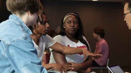 YOUNG EAST LONDONERS DIVE INTO SADLER'S WELLS' CAREER IMMERSION DAY